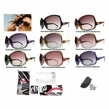 NEW Electric Lovette Womens Fashion Designer Oversize Sunglasses Msrp$110