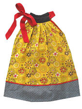 Sophie Catalou Floral & Heart Print Cotton Girls Summer Dress Sizes 4-6 $56 NWT