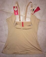 NEW Womens XL SPANX Open Bust Boost Convertible Nude Firm Control Shapewear Top