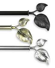 Rod Desyne Modern Ivy Curtain Rod and Hardware Set
