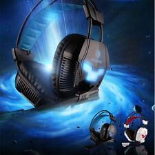 Sades A30 7.1 Surround Effect USB Gaming Headset Headphone With Micphone For PC