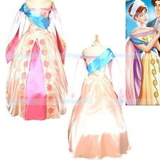 Exclusive Anastasia Princess Snow White Dress Cosplay Costume Express Delivery