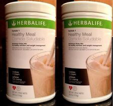 NEW! Lot of 2 Herbalife Formula-1 Shakes Choose FLAVORS! (FREE Shipping)