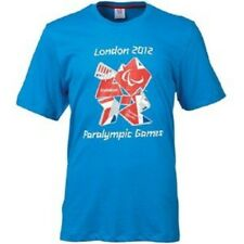 Adidas Official London 2012 Mens Paralympics Union Jack Logo Mens Large T-Shirt