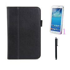 Holder PU Leather Case Cover+1x LCD+Stylus Pen For Samsung Galaxy Tab3 Lite T110