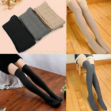 Sexy Women Girl Thigh High OVER the KNEE Socks Cotton Stockings 3 Clours