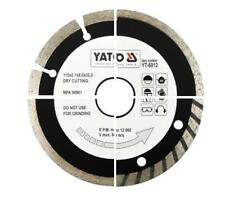 Yato diamond cutting discs 110 115 125 180 200 230 bore 22.2 & 25.4 tile cutter