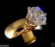 Brilliant 2.8ct Round Cut Cubic Zircon CZ AAA Engagement Ring 5 6 7 8 9 10 GL073