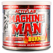 ActivLab Machine Man Burner 120 Caps - STRONGEST FAT BURNER SLIM FAST Pills
