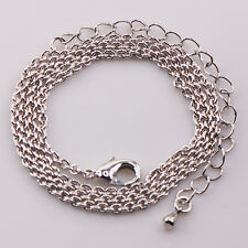 "High quantity Lowest price Silver Gold Filled Chain Necklace  17""+1"" AP05"