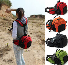 Camera Waist Pack Bum Bag Belt Pack For Running Cycling Hiking Travel Large Bag