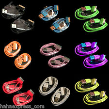 USB Sync Data Charging Charger Cable Cord for iPhone 4S 4 iPod 4G 4th - USA LOT