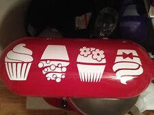 KITCHENAID CUPCAKE DECAL 21 VINYL COLORS TO CHOOSE FOR YOUR STAND MIXER