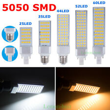 E27 G24 5W 7W 9W 11W 13W 5050 SMD LED Spot Light Bulbs Corn Lamp Warm Cool White