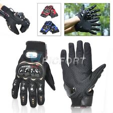 Pro-biker Full Finger Motorcycle Riding Racing Cycling Sport Gloves M / L / XL