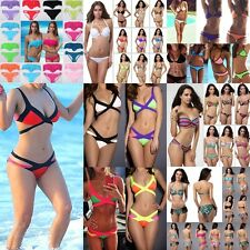 New 2014 Sexy Women Bandage Bikini Set One-Piece Swimsuit Monokini Bathing suit