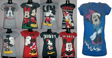 DISNEY WOMEN'S/GIRL'S OFFICIAL T-SHIRT NEW WITH TAGS VARIOUS SIZES AVAILABLE