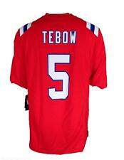 Nike Tim Tebow #5 New England Patriots Game Jersey Alternate Throwback RED RARE!