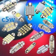 C5W AMPOULE LED SMD XENON 31/36/38/39/41/42MM NAVETTE ANTI ERREUR Canbus ODB 12V