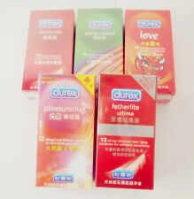 New 5 Styles selectable Durex condoms EXTRA SENSITIVE Premium Lubricated Condoms