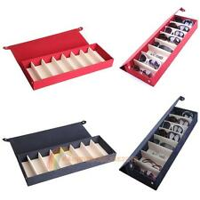 Storage Display Grid Case Box for Eyeglass Sunglass Glasses 8 Compartments R1BO