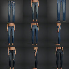 NWT WOMEN'S  HOLLISTER BY ABERCROMBIE  Super Skinny Jeans ALL SIZE