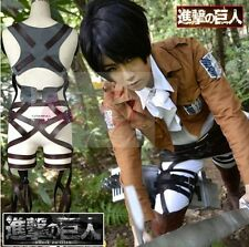 Attack on Titan Shingeki no Kyojin Belts and harness Cosplay Straps Mikasa