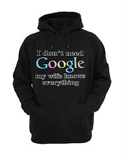I Don't need GOOGLE My Wife Knows Everything hoodie , Hooded Sweatshirts