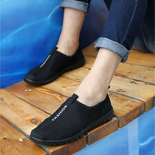 New Women Sport Fresh Ventilate Casual Mesh Running Loafers Slip On Tennis Shoes