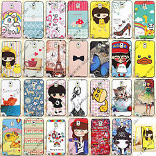 Cartoon 2 in 1 PC & Soft TPU Hybrid Case Cover For Samsung Galaxy Note 3 N9000