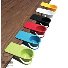 Cup Holder Office Kitchen Drink Tea & Coffee Table Desk Clip Drinklip Colorful