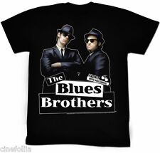 T-shirt The Blues Brothers Elwood & Jake Maglia Uomo ufficiale film