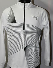 Puma Golf Graphic 1/4 Zip Popover Jacket - White - 2014 A/W Collection