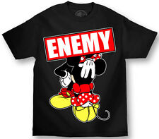 MAFIOSO CLOTHING EMEMY OF THE STATE MICKEY MOUSE MINNIE SEX  T SHIRT