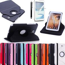 360 Rotating Case Cover Stand Samsung Galaxy Note 8 Tablet N5100/N5110 11 Colors