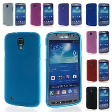 Soft Tpu Silicone Skin Style Back Case Cover For Samsung Galaxy S4 Active I9295