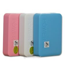 7800mAh External Portable Power Bank Charger for Cell Phones and Tablets