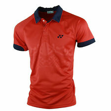 Yonex Men's Red Polo T Shirt With Your Name