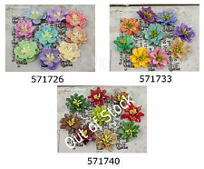 Prima * LUCIDO * MULBERRY PAPER FLOWERS * Scrapbooking Cards *
