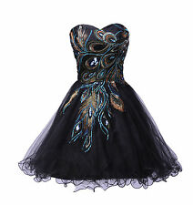 ❤CHEAP❤ Sexy Formal Bridesmaid Masquerade Prom Ball Gown Cocktail SHORT Dress