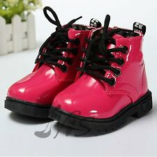 New Cute Baby Girls Boys Martin Shoes Childrens Kids Water-proof Boots 4 Colors