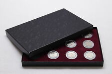 Display Box for 12 US Nickels in Airtite Coin Capsule Holders, Burg Interior