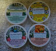HAND CREAMS-BODY CREAMS-ORGANIC TREATMENTS FOR YOUR SKIN NEEDS- -CHOOSE YOURS