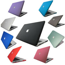 "New Rubberized Hard Case Cover For Macbook PRO Air 13""&15'' Laptop Shell"
