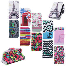 For Samsung Galaxy S3 Mini i8190 Leather Flip Wallet Soft Rubber Skin Case Cover