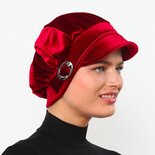 US Seller!! NEW Fancy Bonnet Cancer Chemo Hijab Turban Cap Beanie Winter Velvet