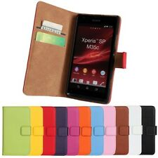 For Sony Xperia SP M35H Wallet Leather Case in cell phone accessories