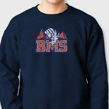 BMS Blue Mountain State Football The Goats T-shirt Orange Pride Crew Sweatshirt