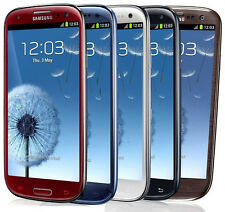 Samsung Galaxy S III SGH-I747 - 16GB - Blue / White / Red (FACTORY UNLOCKED) (C)