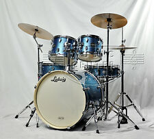 Ludwig Element DRIVE Drum Set Complete w/ Hardware, Cymbals & Throne Kit